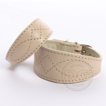DG Luxury collar  BEIGE