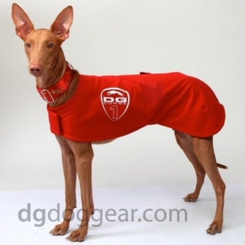 DG RACING WARM-UP RACING BLANKET RED OLD