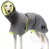 DG OUTDOOR WARM PLUS COAT NEON YELLOW