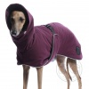 DG OUTDOOR WARM COAT WINE PURPLE