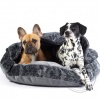 DG COMFY cave orhopedic dog bed CASTLE STYLE
